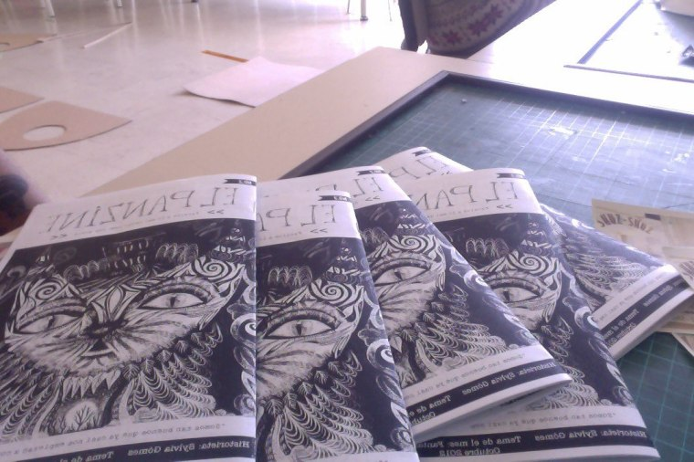 Panzine Fanzine from Colombia