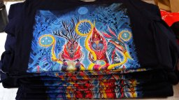 T-Shirts (The Swan and the path of light) AGOTADASAGOTADAS/ SOLD OUT