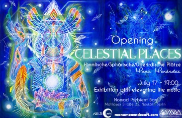 """""""Celestial Places"""" Berlin, Germany, 2015"""