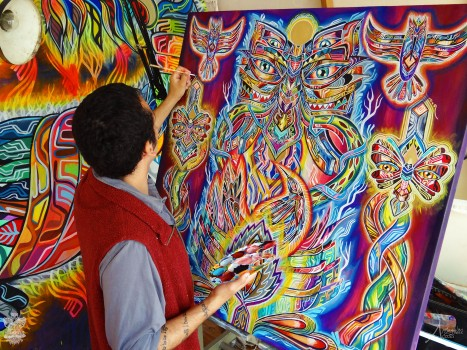 Ometeotl art. WORK IN PROGRESS