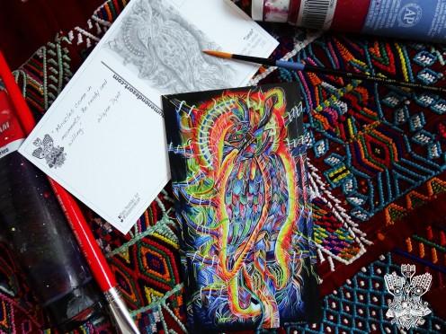 """Tamani"" Postal/ Postcard 10 x 18 cm"