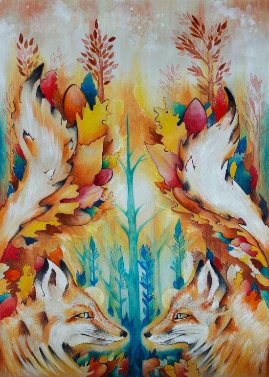 Autumn-Foxes retoque1.1